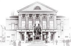 WEIMAR. Goethe und Schiller