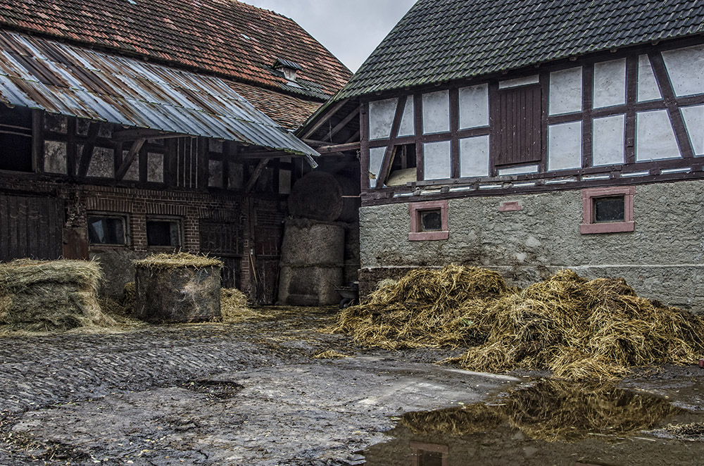 Weimar-Nesselbrunn - der Misthaufen