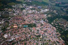 Weimar von oben