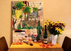 Wein-Collage