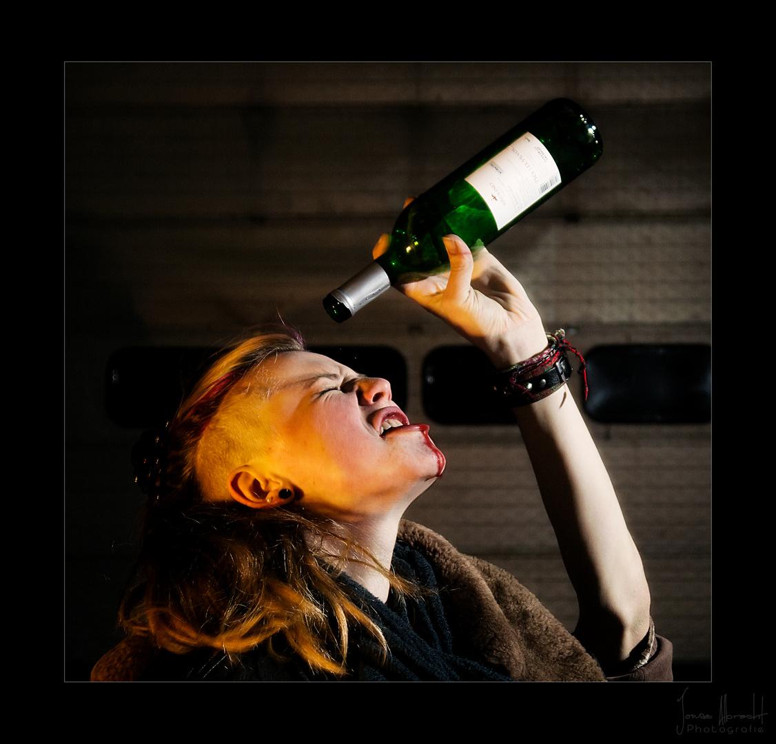 Wein doch nicht...