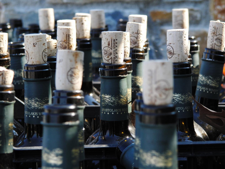 Wein geht immer,erst recht in schlechten Zeiten!