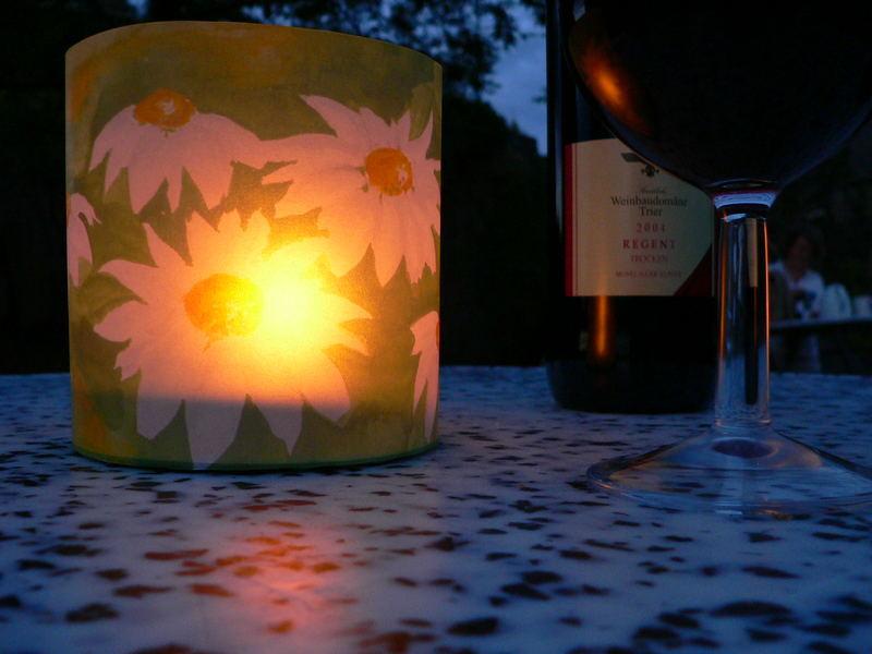 Wein und Licht