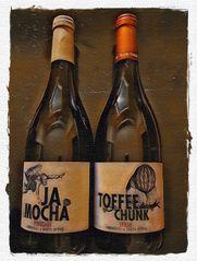 Weinflasche für Michael