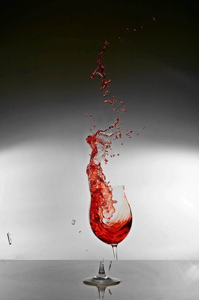 Weinglas bruch 2