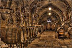 Weinkeller im Kloster Eberbach [HDRI] / wine cellar at Kloster Eberbach