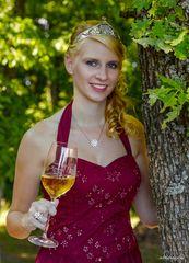 Weinkönigin am Calmont