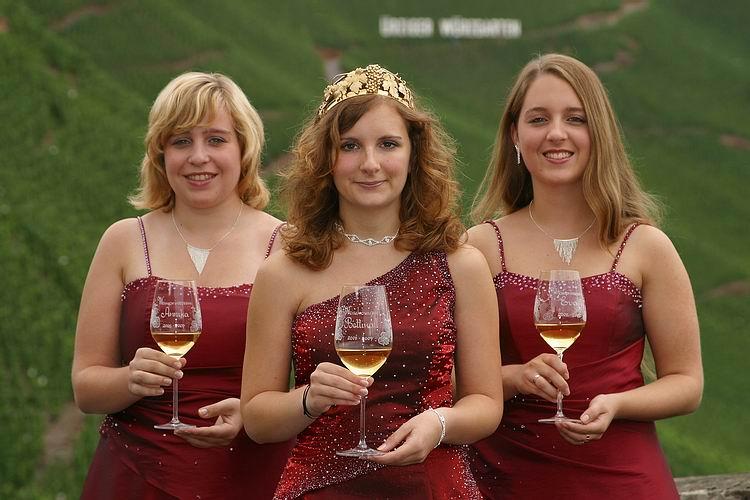 Weinkönigin und Prinzessinnen 2006, Ürzig/Mosel