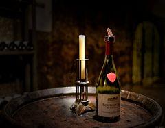... Weinprobe vorbei ...