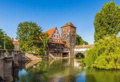 Weinstadel und Henkersbrücke in Nürnberg 19