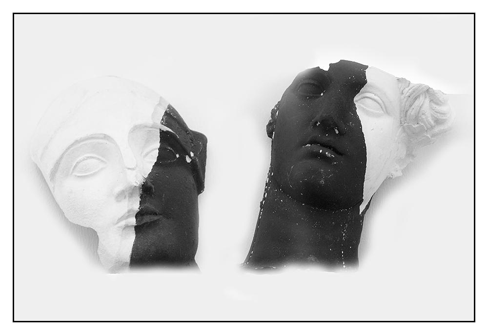 weiß-schwarz-schwarz-weiß