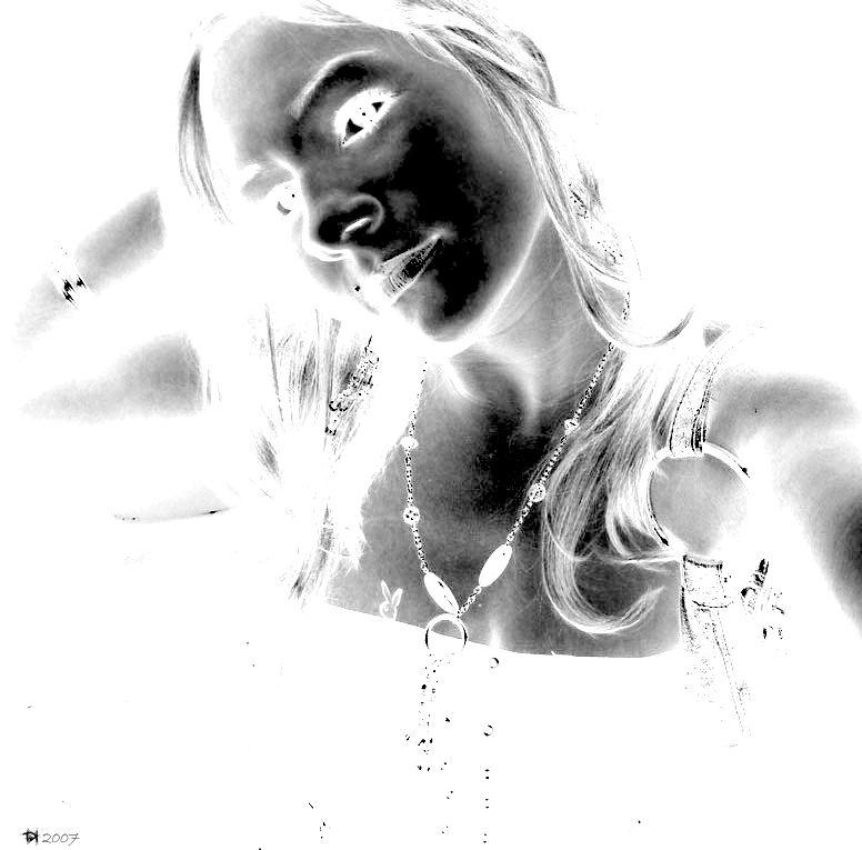 weiße Frau