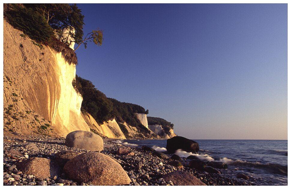 weiße Küste