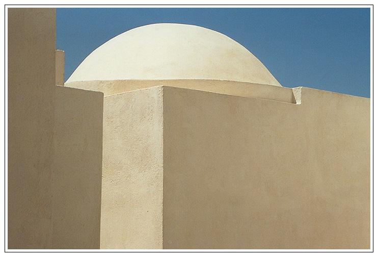 Weiße Kuppel