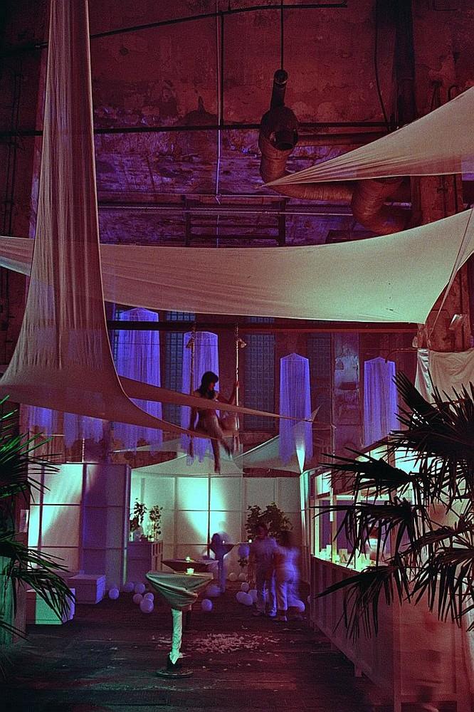 Weisse Partynacht im alten Kraftwerk