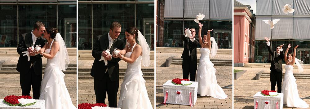 Weisse Tauben Foto Bild Hochzeit Menschen Bilder Auf Fotocommunity