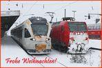 Weiße Weihnacht 2010 in Hamm