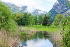 Weissenau mit Golfplatz