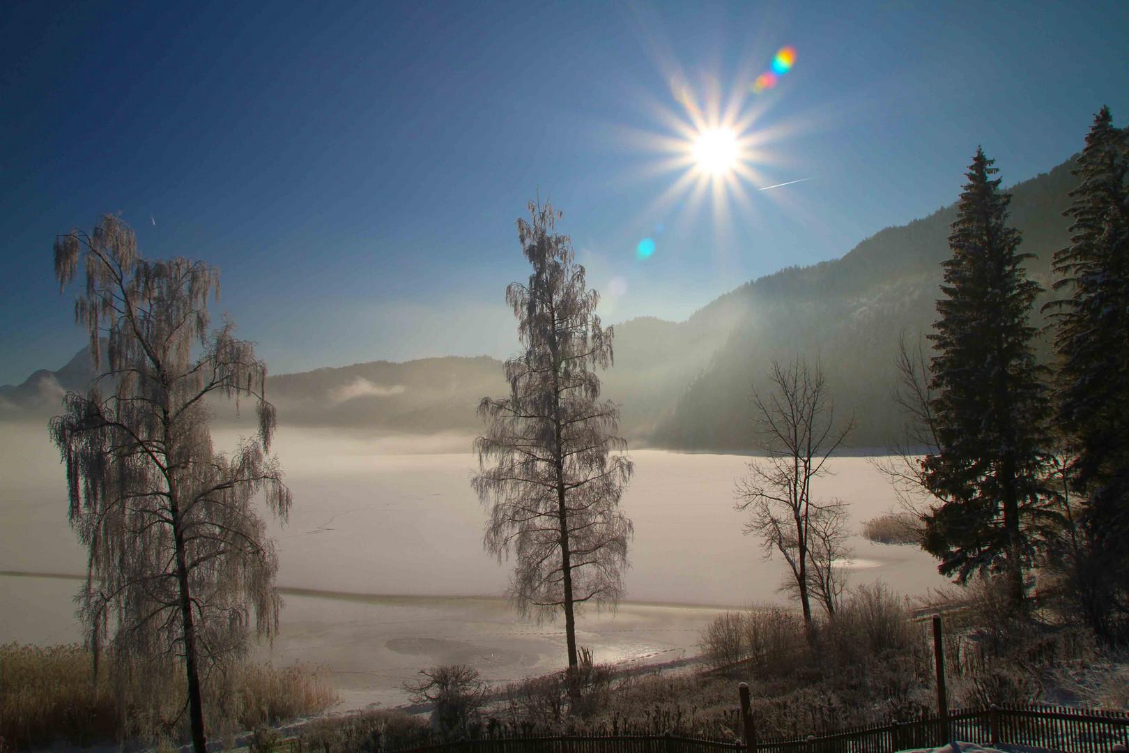 Weissensee - Sonnenaufgang
