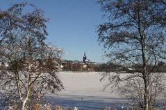 Weißenstädter See im Winter