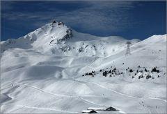 Weisshorn, knapp 2 Tage nach 1 m Neuschnee ...