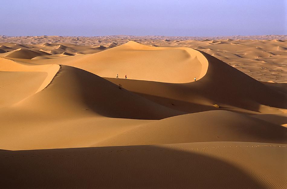 Weite, Linien, Farben: Wüste wie im Traum RELOAD