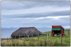Weite Sicht zu den Äußeren Hebriden
