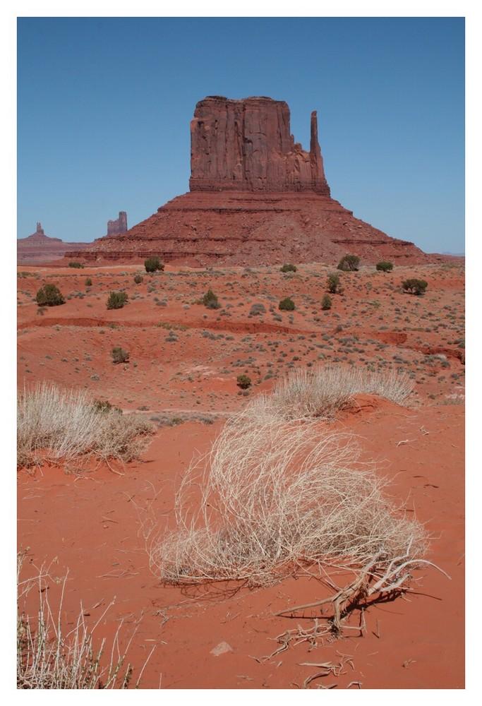 weitere Felsenformation im Monument Valley