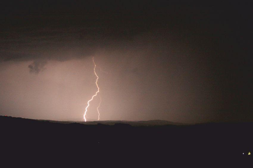Weiterer Blitzschlag im Anmarsch