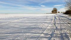 Weites Land und eine geniale Stelle für individuellen Langlauf...