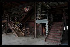 Welche Treppe sollen wir nehmen....?