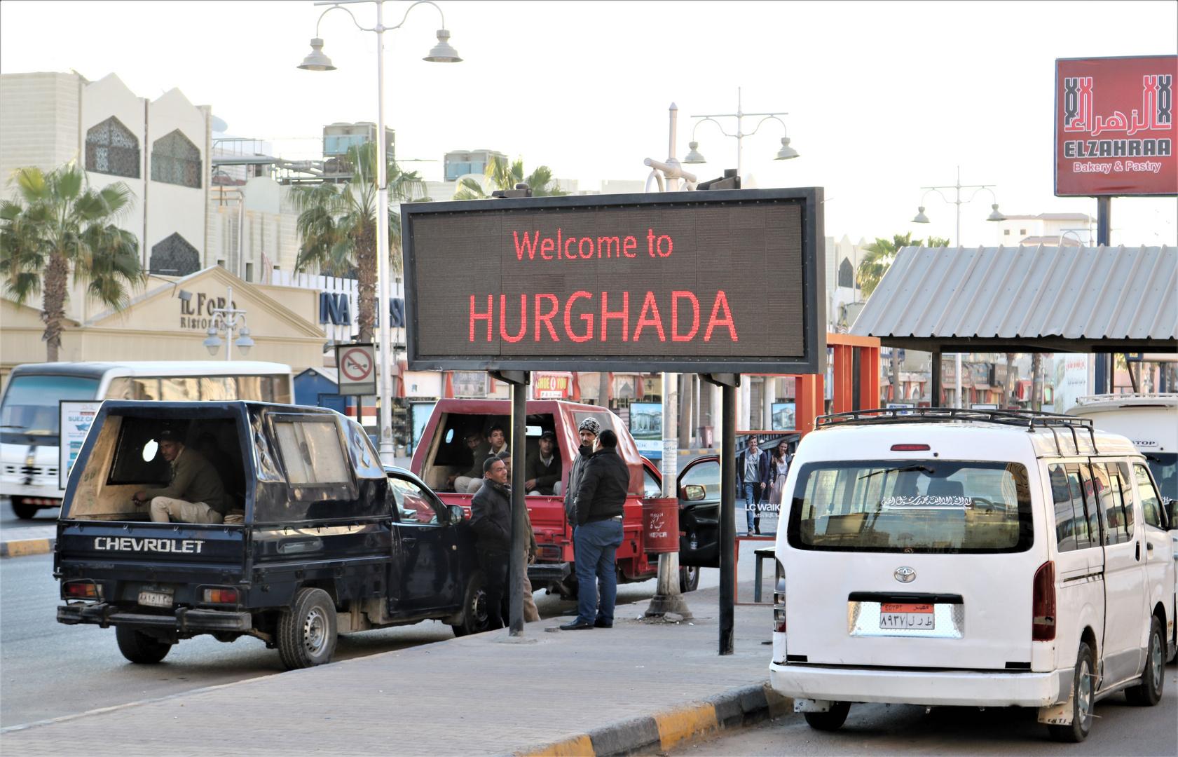 WELCOME to HURGADA