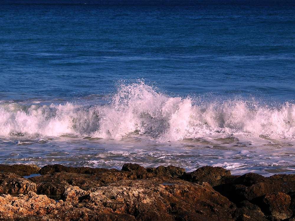 Welle auf Mallorca