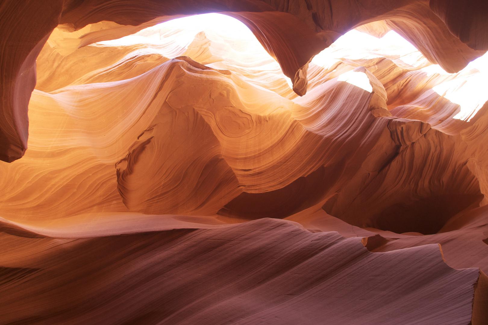 Wellen aus Stein