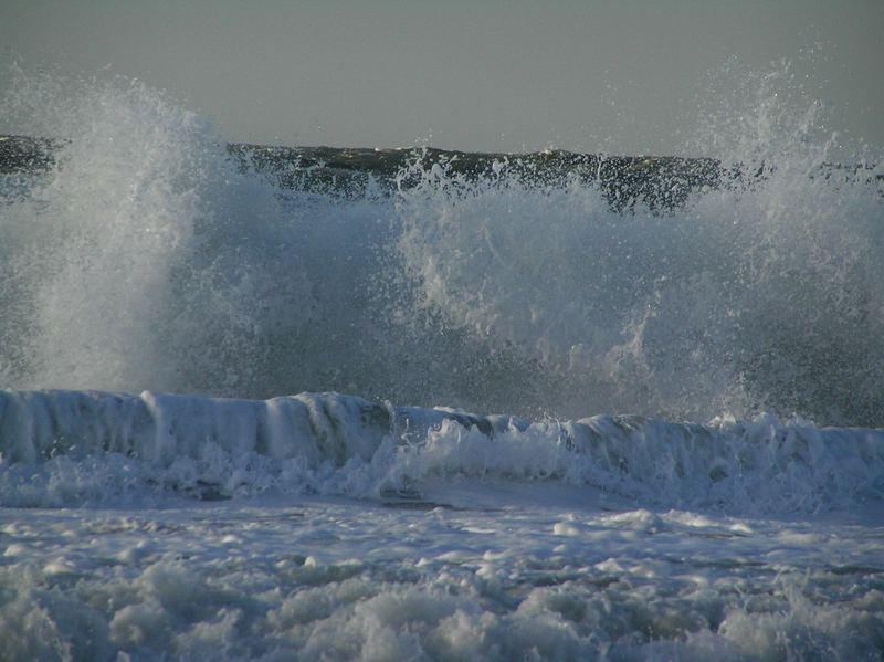 Wellen im Winter