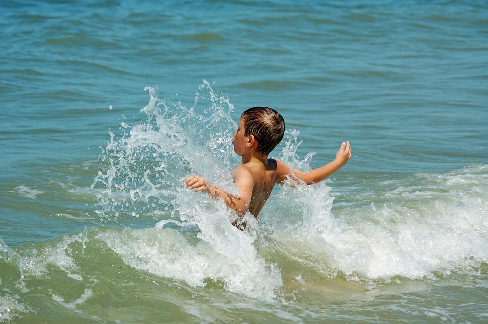 Wellen machen so ein Spass