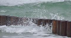 Wellenbrecher (Buhnen )