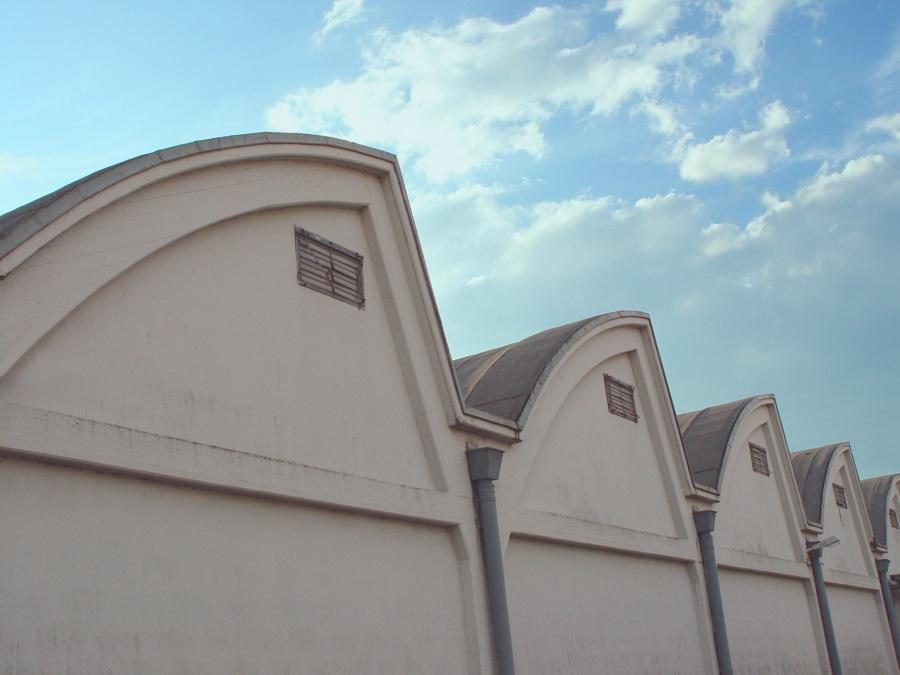 Wellenkämme ... aus Dachpappe
