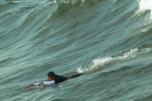 Wellenreiten an Ostsee und Nordsee