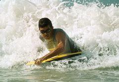 Wellenreiten auf dominikanisch