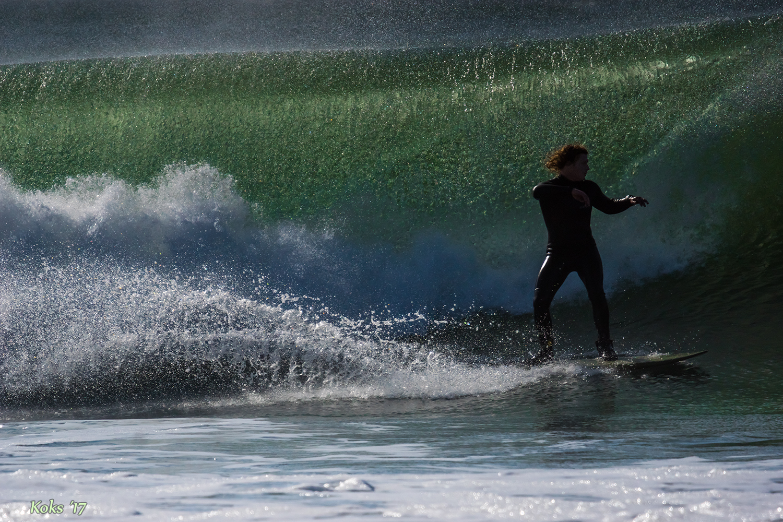 Wellenüberschlag