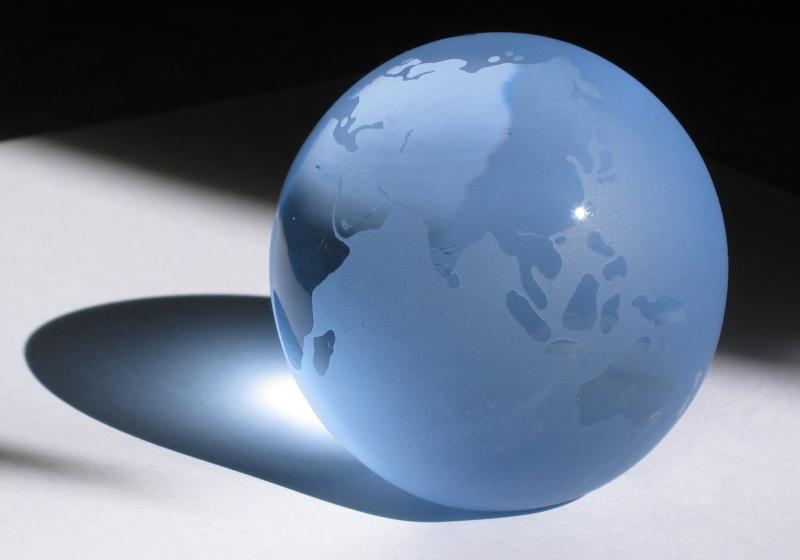 Welt in Glas