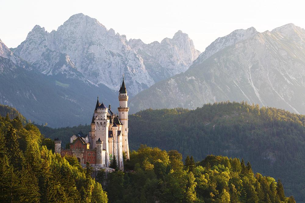 Weltbekanntes Märchenschloss ...