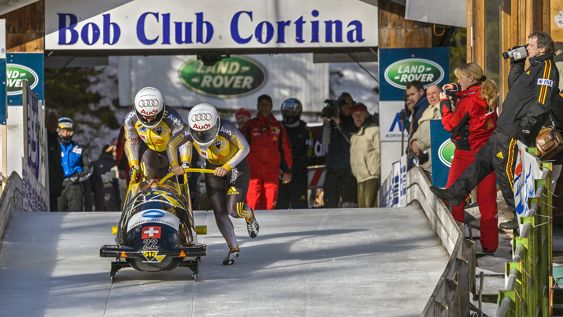 WELTCUP in Cortina