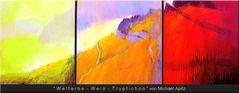 ~Welterbe-Wein-Triptychon~ von Michael Apitz