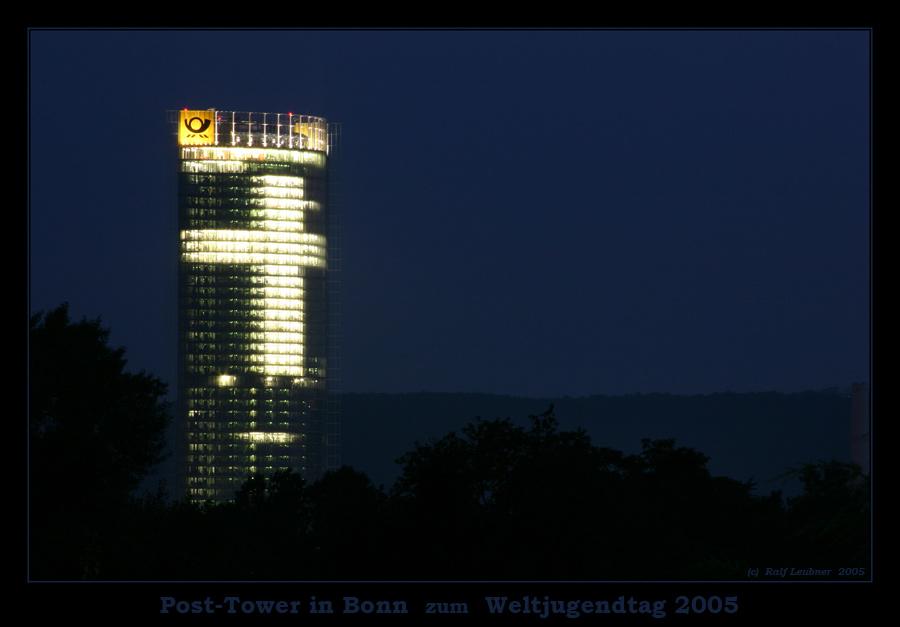Weltjugendtag 2005 --- Post-Tower in Bonn #001
