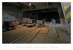 """Weltkulturerbe - Rammelsberg - Goslar """" Verladestation, unter Tage.... """""""
