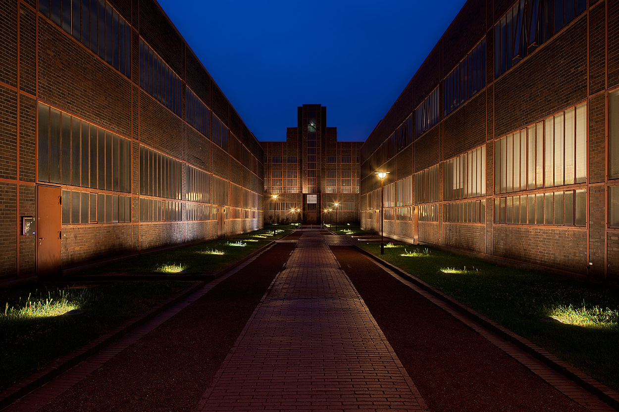 Weltkulturerbe Zeche Zollverein – Blick zum Red Dot Design Museum I