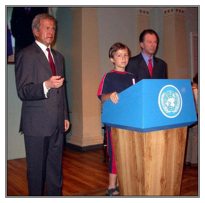 Weltpolitik bei Madam Tussaund?