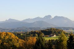 Wendelstein im Herbstmantel